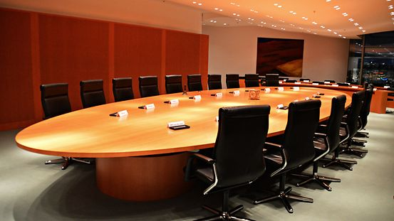 Kabinettsaal im Budneskanzleramt